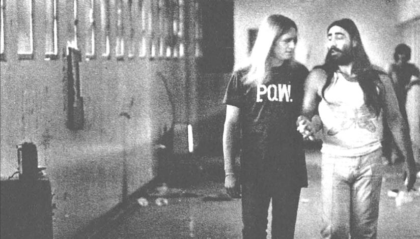 """Nueva edición: """"Fuego Queer: Historia de  la """"Brigada George Jackson""""  y del colectivo gay anticarcelario  """"Hombres contra el Sexismo""""  (1975-1978),  Ed Mead. Rita """"Bo""""Brown."""