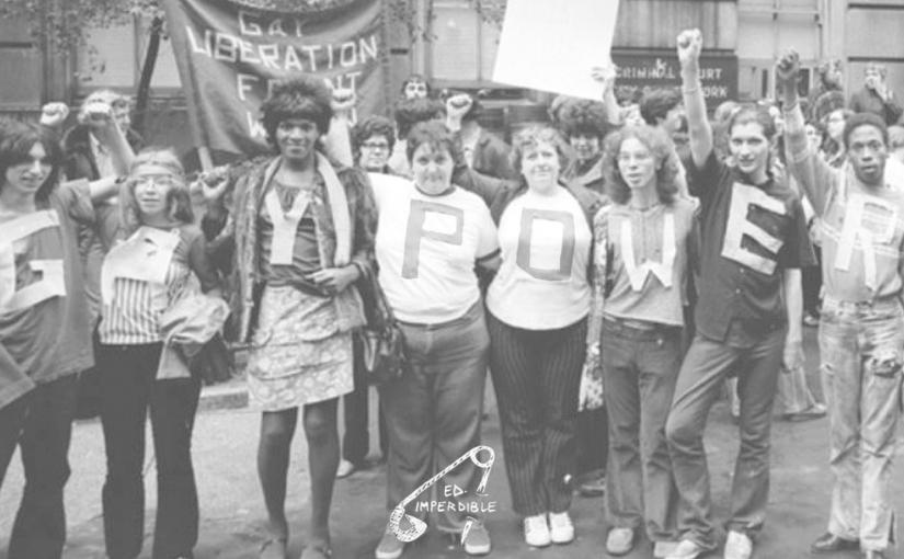 """Nueva edición: """"Estrategias de  resistencia y ataque. Pequeña historia de la resistencia feminista/queer radical desde los años 60 hasta hoy"""", AlexB."""