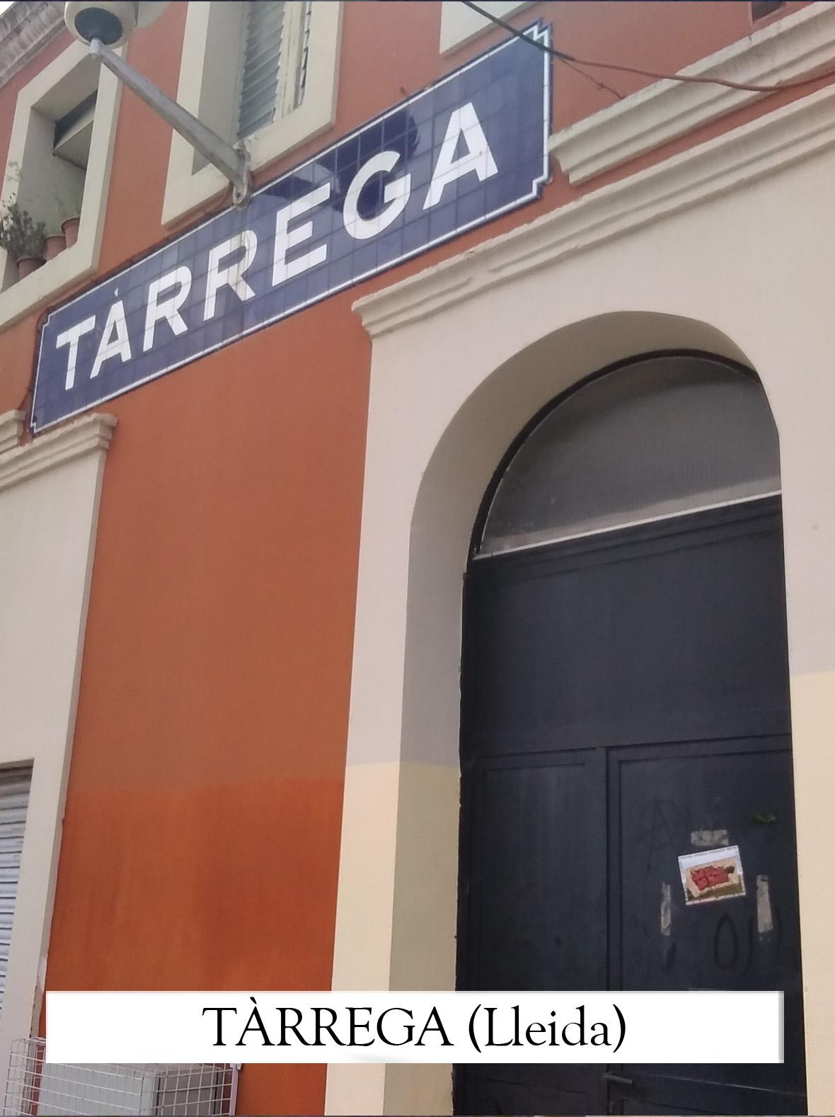 Pastora González Vieites, Xosé Tarrío. Tarrega (Lleida)