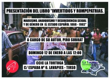 Presentacion Invertidos y rompepatrias La Tortuga